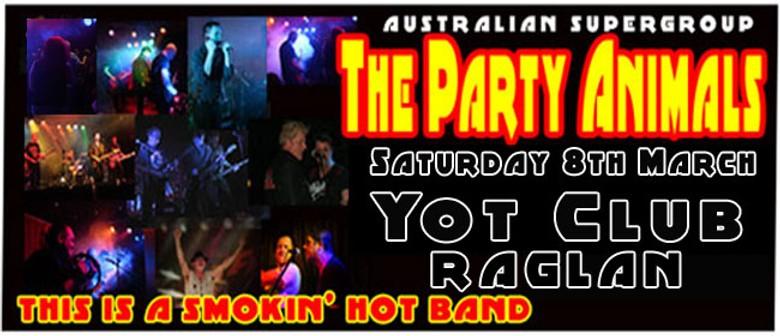 Aussie Supergroup Party Animals