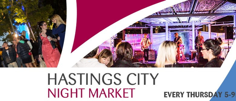 Hastings City Night Market - Valentine's Themed Market