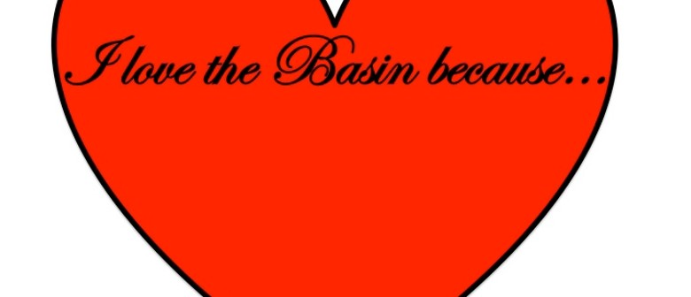 Love the Basin on Valentine's Day