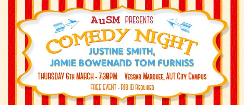 AuSM Comedy Night