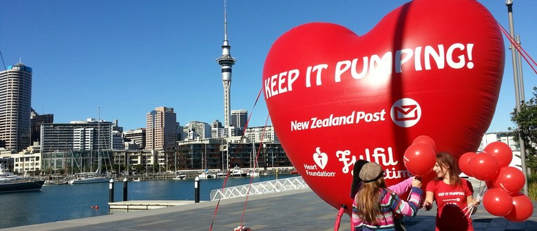 Help Val Adams Keep the Giant Heart Pumping for Heart Week