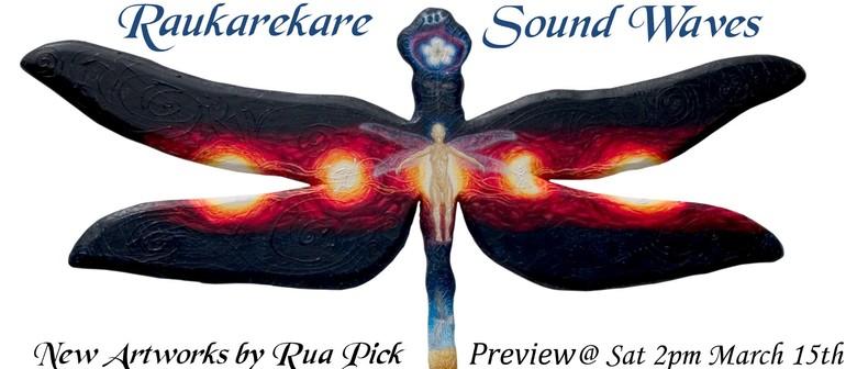 Raukarekare - Sound Waves New Artworks