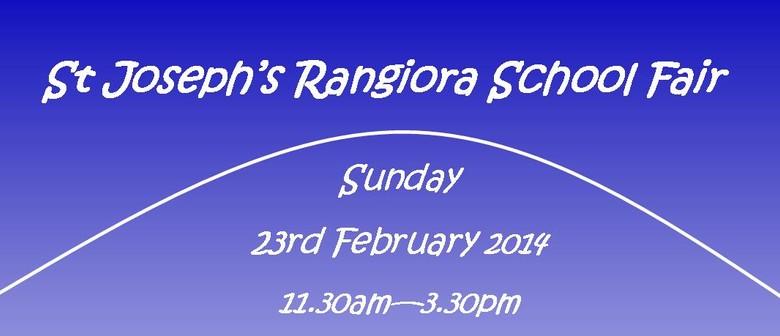 St Joseph's Rangiora School Fair
