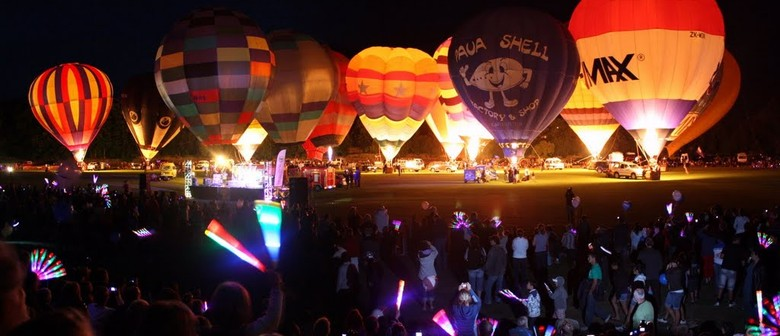 Night Glow - Wairarapa Balloon Fiesta 2014: CANCELLED
