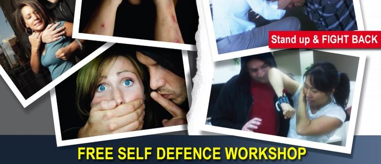 Community Self Defence Workshop