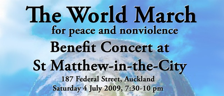 The World March for Peace and NonViolence Benefit Concert