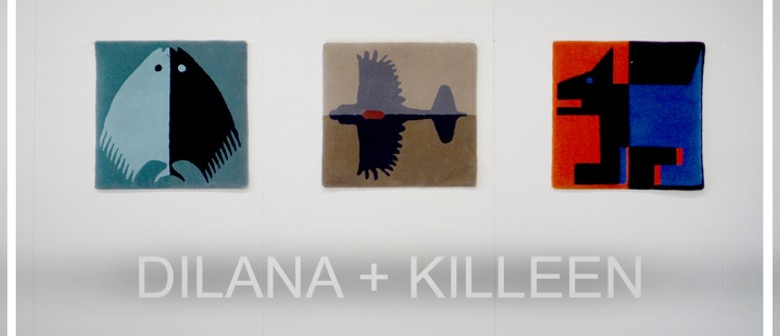 Dilana Rugs and Richard Killeen Collaboration Exhibition