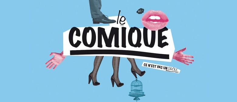 Le Comique - Host Marcel Lucont 2014 NZ Intl Comedy Fest