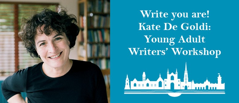 Write you are! Kate De Goldi