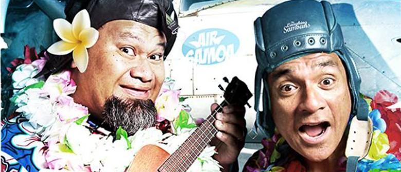 Fresh off Da Blane ~ Laughing Samoans