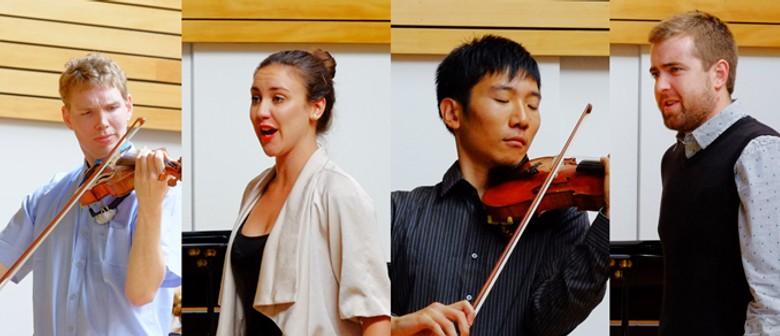 Te Kōkī NZSM Lunchtime - Violins and Voices