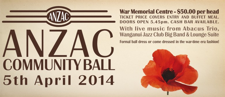 Anzac Community Ball: CANCELLED