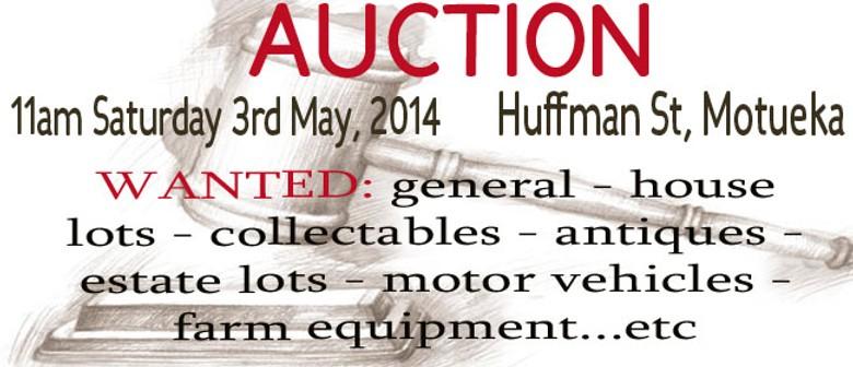 General Auction in Motueka