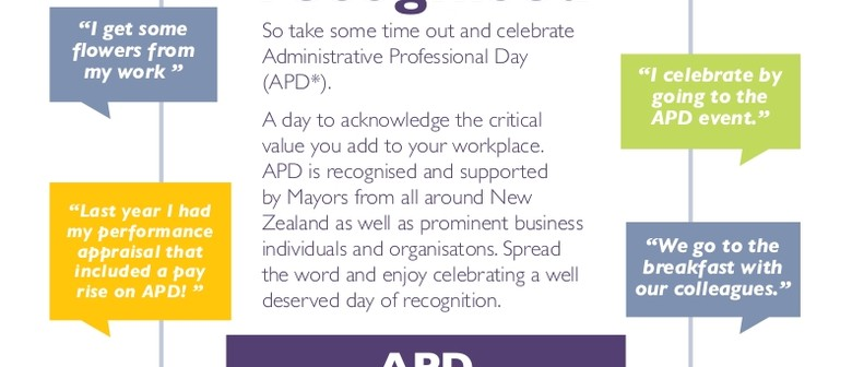 Rotorua's Administrative Professionals Day Celebrations