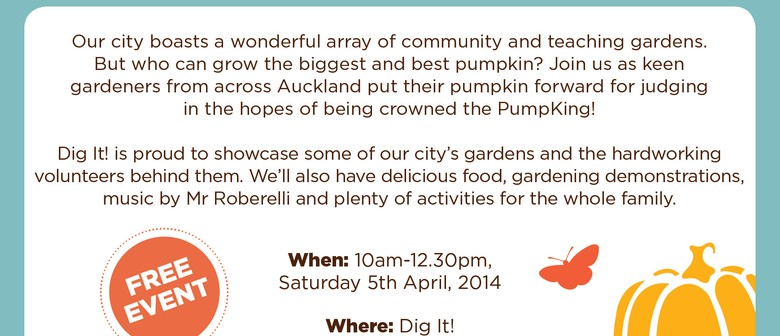 Pumpkin Festival and Community Garden Showcase