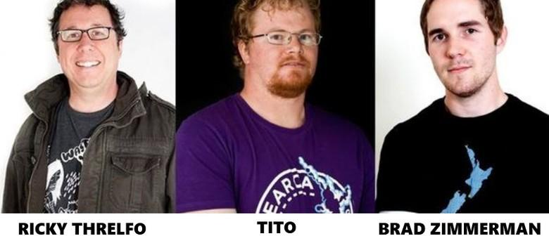 Ricky Threlfo, Tito and Brad Zimmerman: A Mild Life Crisis