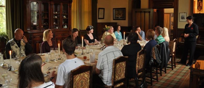 Dinner at Larnach Castle