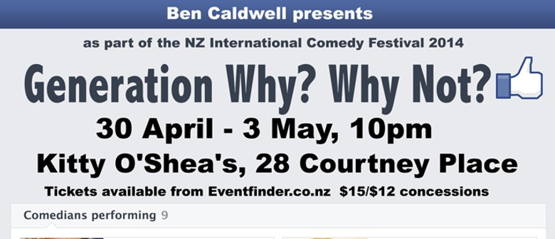 Generation Why? Why Not?