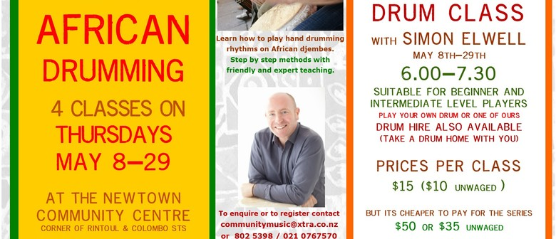 African Drumming Classes