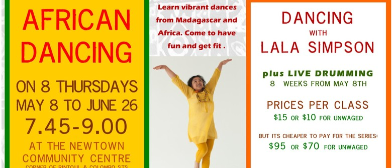 African Dancing With Lala Simpson Plus Live Drumming
