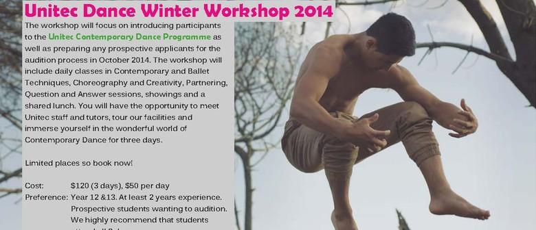 Unitec Dance Winter Workshop 2014
