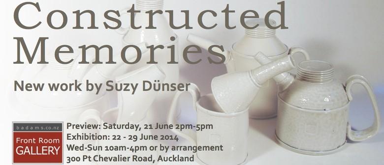 Constructed Memories New Work By Suzy Dünser