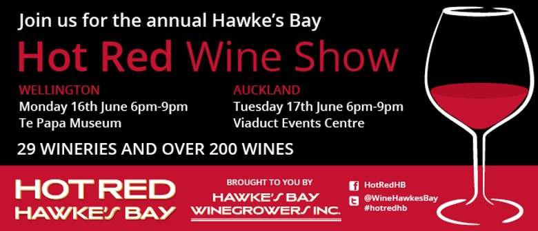 Hot Red Hawke's Bay Wine Show