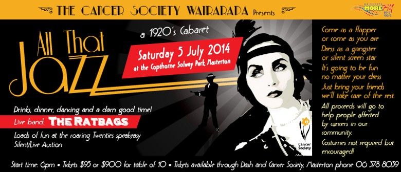 Cancer Society Wairarapa Presents 'All That Jazz'