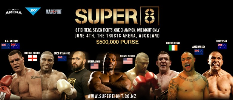 Super 8: Last Man Standing Weigh-In