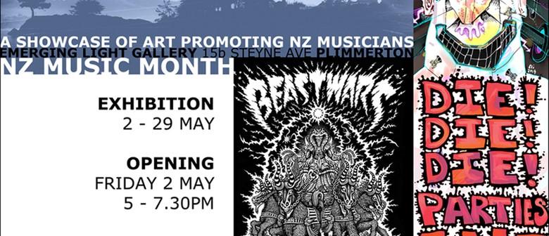 NZ Music Month Exhibition