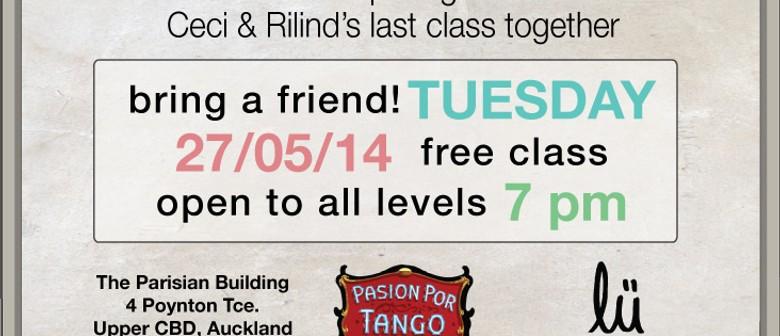 Tango Argentino Class
