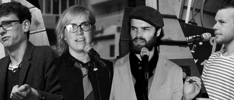 Wellington Pub Poets and Lyttleton Poets in Soap Box Slam