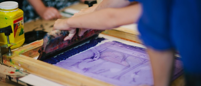 Play With Print: Art Making for 6-8 Year Olds
