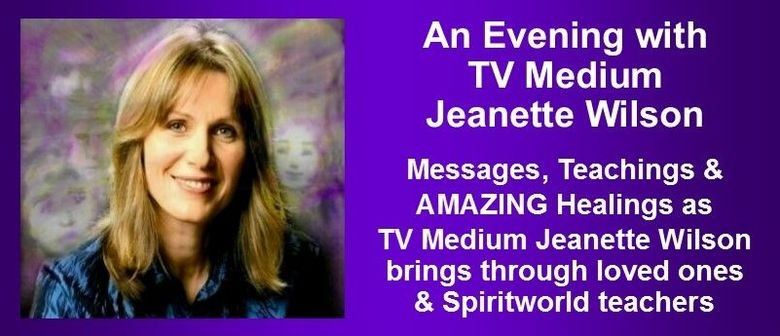 An Evening with Jeanette Wilson