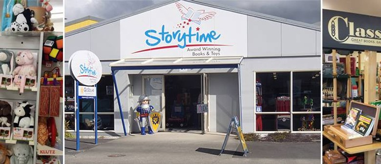 Storytime - Grand Opening of our new store