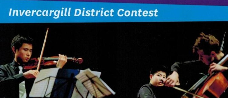 Chamber Music NZ - Southland District Contest 2014
