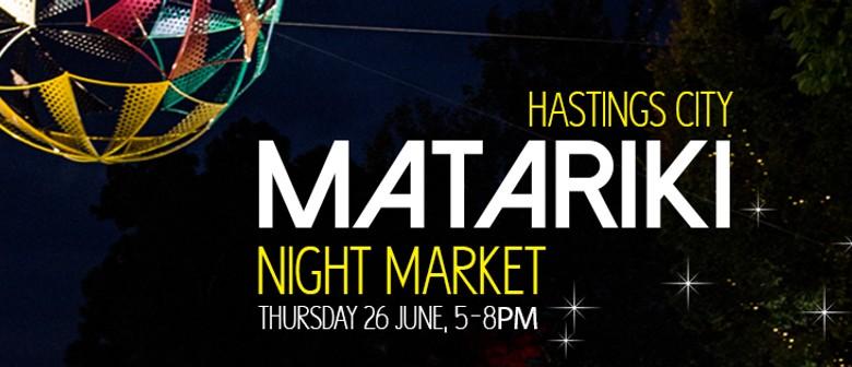 Hastings City Matariki Night Market
