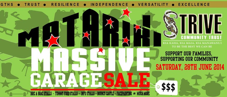 Matariki Massive Garage Sale