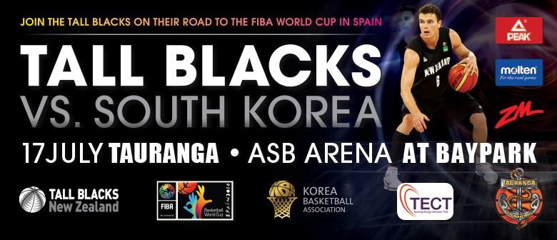 Tall Blacks vs South Korea