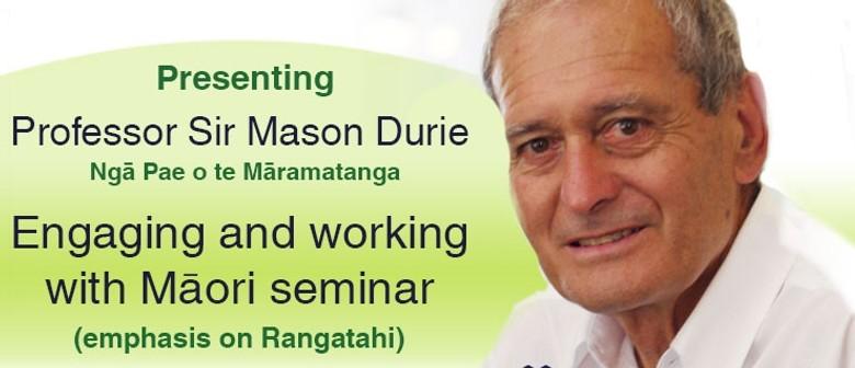 Presenting Professor Sir Mason Durie