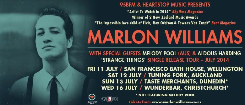 Marlon Williams Single Release Tour