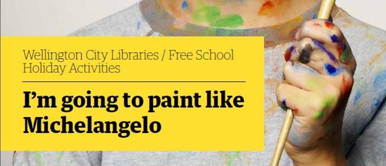 Paint like Michelangelo