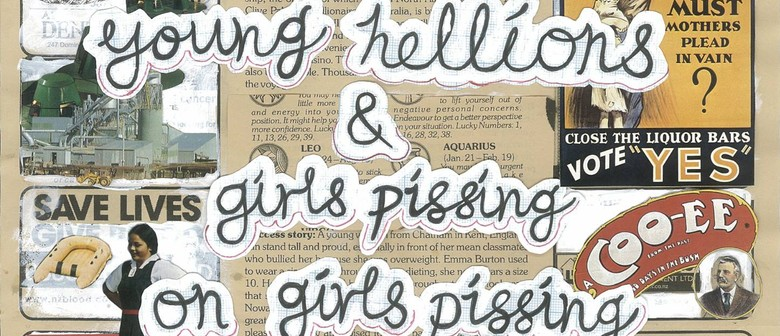 Girls Pissing on Girls Pissing X Young Hellions