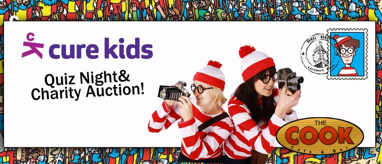 The Where's Wally Wizz-Kids Quiz Night for Cure Kids