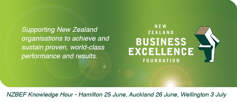 Knowledge Hour - Partnership to Excellence