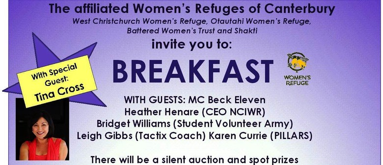 Affiliated Canterbury Women's Refuges Annual Appeal