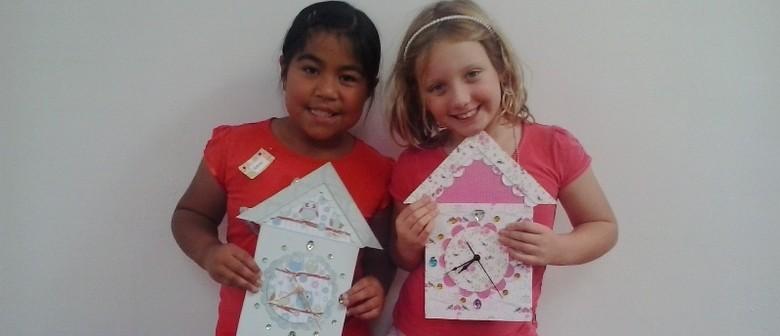 Contemporary Craft - Creative Kids School Holiday Programme