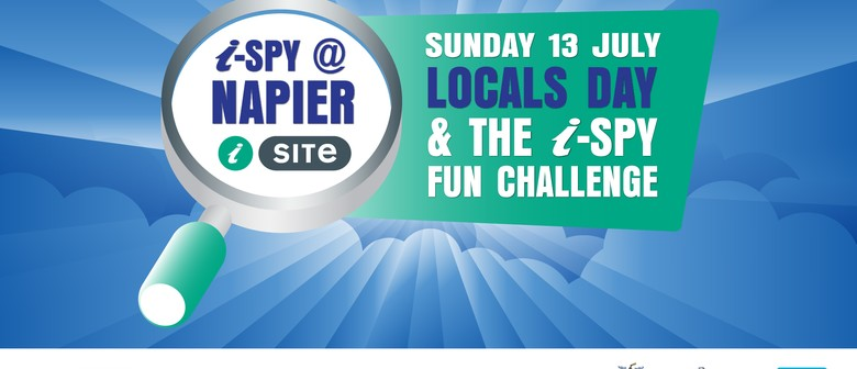 Napier i-SITE Locals Day & i-SPY Fun Challenge