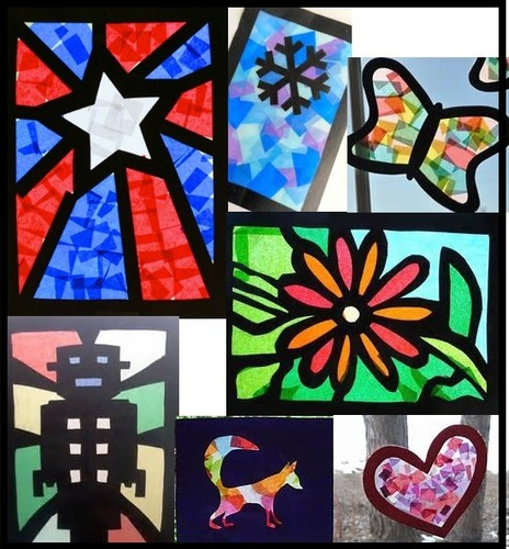 stained glass craft ideas cellophane craft paper stained glass windows ashhurst 5488