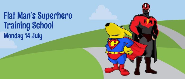 Flat Man's Superhero Training Academy